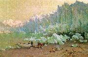 Thomas Hill The Muir Glacier in Alaska oil painting picture wholesale