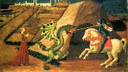 UCCELLO, Paolo St George and the Dragon qt oil painting picture wholesale