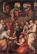 VASARI, Giorgio The Prophet Elisha er oil painting picture wholesale