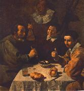 VELAZQUEZ, Diego Rodriguez de Silva y Breakfast  ar oil painting picture wholesale