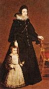 VELAZQUEZ, Diego Rodriguez de Silva y Doua Antonia de Ipeuarrieta y Galds and her Son Luis wr oil painting picture wholesale