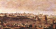 VELAZQUEZ, Diego Rodriguez de Silva y View of Zaragoza set oil painting picture wholesale
