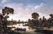 VELDE, Esaias van de Ferry Boat qr oil painting picture wholesale