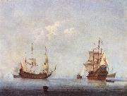 VELDE, Willem van de, the Younger Marine Landscape wer oil painting picture wholesale