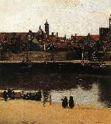 VERMEER VAN DELFT, Jan View of Delft (detail) wt oil painting picture wholesale
