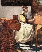 VERMEER VAN DELFT, Jan The Concert (detail) rey oil painting picture wholesale