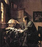 VERMEER VAN DELFT, Jan The Astronomer et oil painting picture wholesale