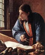 VERMEER VAN DELFT, Jan The Geographer (detail) jug oil painting picture wholesale