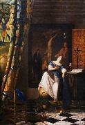 VERMEER VAN DELFT, Jan The Allegory of the Faith wet oil painting picture wholesale