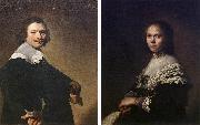 VERSPRONCK, Jan Cornelisz Portrait of a Man and Portrait of a Woman  wer oil painting picture wholesale