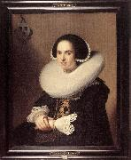 VERSPRONCK, Jan Cornelisz Portrait of Willemina van Braeckel er oil painting picture wholesale