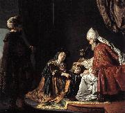 VICTORS, Jan Hannah Giving Her Son Samuel to the Priest ar oil painting picture wholesale