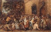 VINCKBOONS, David Distribution of Loaves to the Poor e oil painting picture wholesale