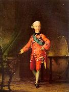 Vigilius Erichsen Grand Prince Pavel Petrovich in his Study oil painting picture wholesale
