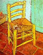 Vincent Van Gogh Artist's Chair with Pipe Germany oil painting reproduction