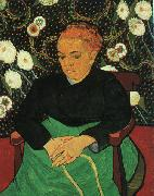 Vincent Van Gogh Madame Augustine Roulin oil painting reproduction