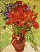 Vincent Van Gogh Red Poppies and Daisies oil painting picture wholesale