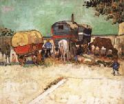 Vincent Van Gogh The Caravans oil painting picture wholesale