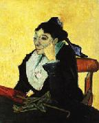 Vincent Van Gogh The Woman of Arles(Madame Ginoux) oil painting picture wholesale