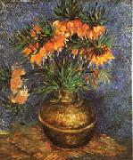 Vincent Van Gogh Imperial Crown Fritillaria in a Copper Vase oil painting picture wholesale