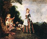 WATTEAU, Antoine The Dance oil painting picture wholesale