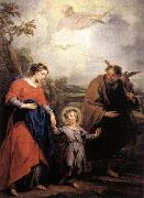 WIT, Jacob de Holy Family and Trinity oil painting picture wholesale