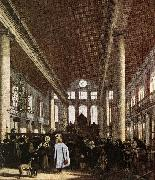 WITTE, Emanuel de Interior of the Portuguese Synagogue in Amsterdam oil painting picture wholesale