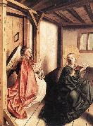 WITZ, Konrad Annunciation r oil painting artist