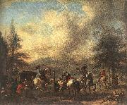 WOUWERMAN, Philips Riding School  4et oil painting picture wholesale