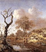 WYNANTS, Jan A Hilly Landscape wer oil painting picture wholesale