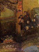 Walter Sickert The Old Bedford oil painting artist