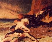 William Etty Hero and Leander 1 oil painting picture wholesale