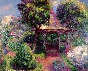 William Glackens Garden at Hartford oil painting artist