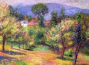 William Glackens Connecticut Landscape oil painting artist