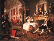 William Hogarth Marriage a la Mode Scene II Early in the Morning oil painting picture wholesale
