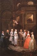 William Hogarth The Wedding of Stephen Beckingham and Mary Cox oil painting picture wholesale