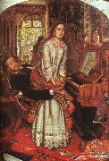 William Holman Hunt The Awakening Conscience oil painting picture wholesale