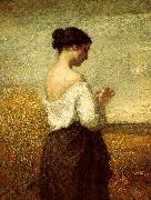 William Morris Hunt Peasant Girl oil painting picture wholesale