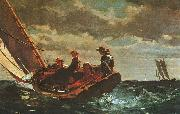 Winslow Homer Breezing Up oil painting picture wholesale