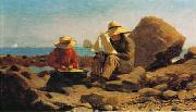 Winslow Homer The Boat Builders oil painting picture wholesale