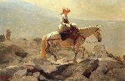 Winslow Homer Bridle Path, White Mountains oil painting picture wholesale