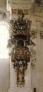 ZIMMERMANN  Dominikus Pulpit oil painting artist