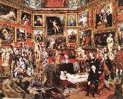 ZOFFANY  Johann The Tribuna of the Uffizi oil painting