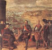 ZURBARAN  Francisco de Defence of Cadiz against the English oil painting picture wholesale
