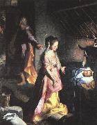 Barocci, Federico The Nativity oil