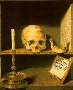 Bruyn, Barthel the Elder Vanitas still life from the reverse of oil