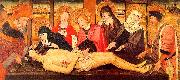 Jaume Huguet The Lamentation of Christ, canvas oil painting picture wholesale