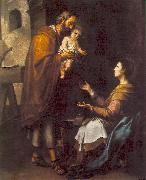 MURILLO, Bartolome Esteban The Holy Family g oil painting picture wholesale