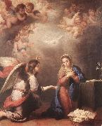 MURILLO, Bartolome Esteban Annunciation shyu oil painting artist