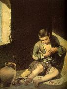 MURILLO, Bartolome Esteban The Young Beggar sg oil painting artist